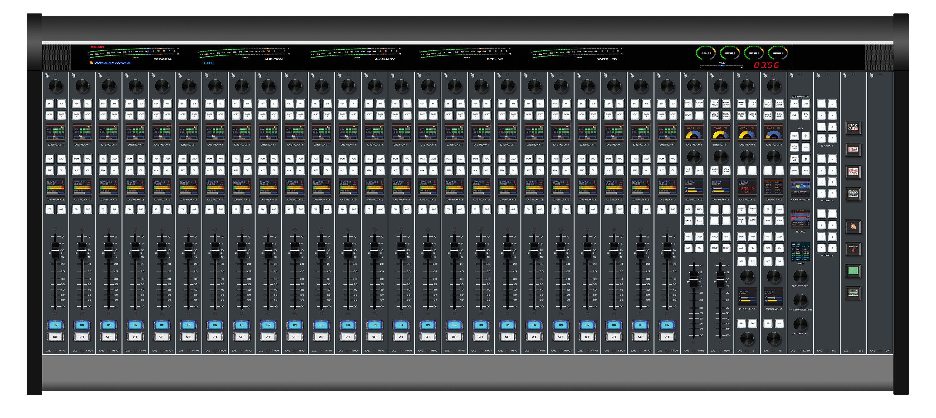 WHEATSTONE INTRODUCES CONFIGURABLE IP AUDIO CONSOLE AT NAB