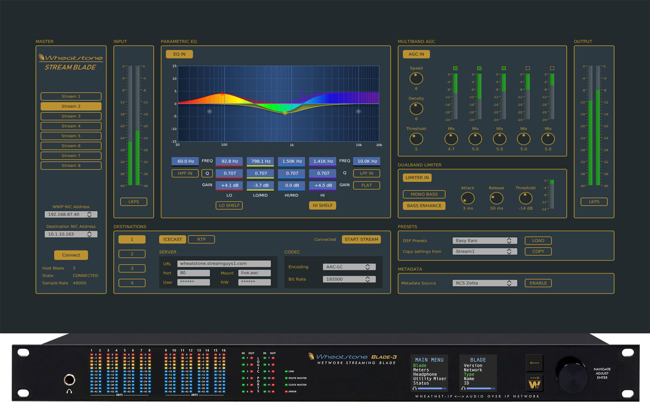 WHEATSTONE INTRODUCES NEW AoIP APPLIANCE FOR MULTIPLE PROGRAM STREAMS